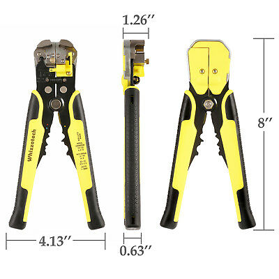 4 In 1 Wire Crimpers Ratcheting Terminal Crimping Pliers Cord End Terminals Tool 11