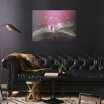 A2 | Magic Book Reading - Size A2 Poster Print Photo Art Student Gift #14061 2