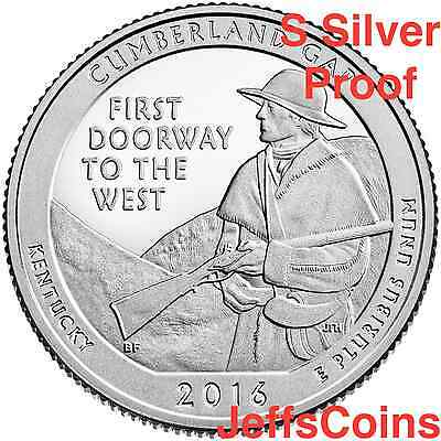 2016 S Theodore Roosevelt National Park 90% Silver Proof via U.S.Mint Set Teddy 6