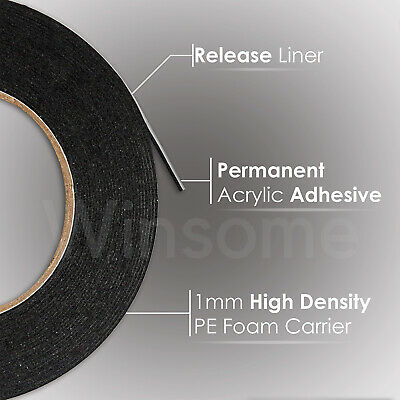 3M™6mm Double Sided Acrylic Foam Tape Heavy Duty Automotive PX5008F