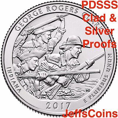 2018 PDSSS Pictured Rocks Park Quarter US Mint Clad & 90% Silver Proof P D S S S 4