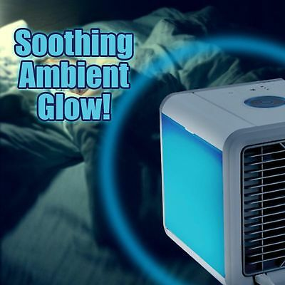 Portable Air Cooler Conditioner NEW Cool Cooling For Bedroom Mini Fan AU 5