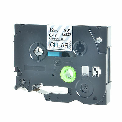 TZ TZe 131 Black on Clear Tape For Brother P-touch PT-H100 12mm Label Maker 5PK