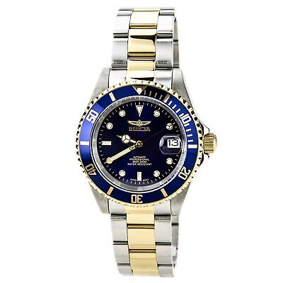 Invicta Men's Watch Pro Diver Automatic Two Tone Stainless Steel Bracelet 8928OB 2