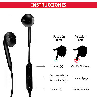 Auriculares Bluetooth S6 Inalámbricos Deportivos Oletumovil 7