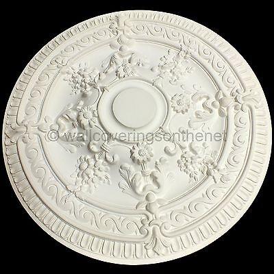 66cm Diameter, Lightweight Ceiling Rose (made of strong resin not polystyrene) 8