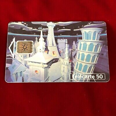 France Telecom Euro Disneyland Paris 1992 Small World Collectable Phone Card 2