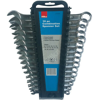 16pc Combination Spanner Set. Metric Spanners 6-22mm by Hilka 3