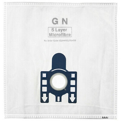 FJM Type Pack Of 5 Vacuum Cleaner Dust Bags for Miele S300I S301I S310I