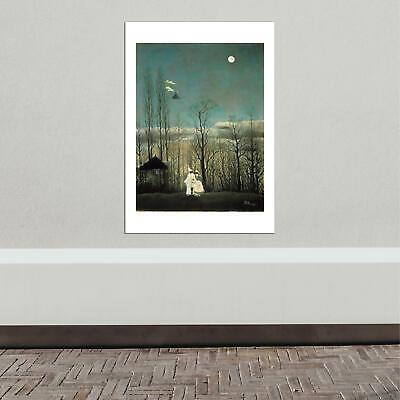 0012330 A Carnival Evening Henri Rousseau Art Print//Poster