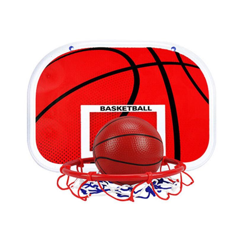 Adjustable 170cm Kids Basketball Back Board Stand & Hoop Set Children Gift UK 8