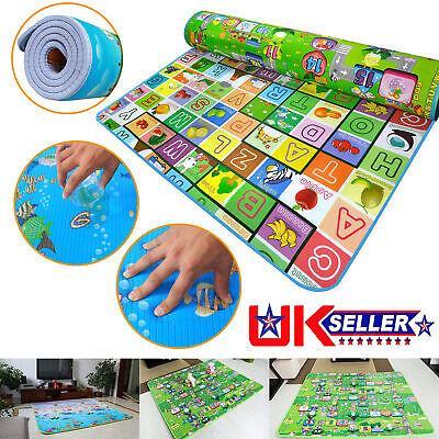 Extra Large Crawl Mat Baby Kid Toddler Playmat Waterproof 2 Side Play Carpet P84 2