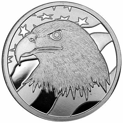 Pledge of Allegiance Silver Eagle 1 oz .999 Silver Round LOT x 5