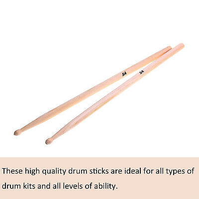 10 Pairs Drum Sticks 5A Drumsticks Maple High Quality Wood Feel Johnny Brook UK 4
