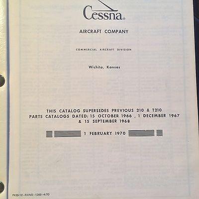 1967 1969 cessna 210 parts manual 152 04 picclick rh picclick com cessna 210 parts manual pdf cessna 210 parts manual 1962