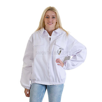 Buzz Beekeeping Bee Jacket with Round Veil - EXTRA SMALL - XS 2
