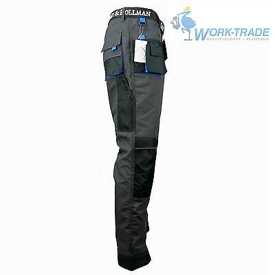 Arbeitshose Bundhose Arbeitskleidung Hose Herren Grau Schwarz Blau Gr. 46-62 5
