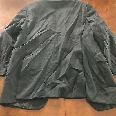 Hugo Boss Sz 42 R Gray Wool Two Button Men's Sports Coat Blazer 8