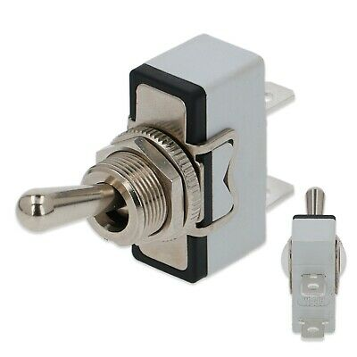 Lever Toggle Power Switch Universal On Off 2 Way Terminal 250V Mixer Blender 3