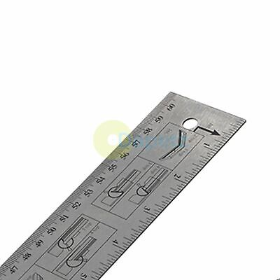 60CM Engineering Easy Angle Protractor Finder Rule Degree Measurement Ruler 4