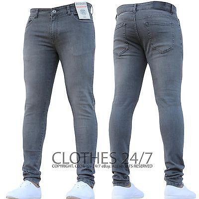 Bnwt New Boys Skinny Jeans Stretch Slim Pant Retro Jeans 24 To 29 Age 7-14 3