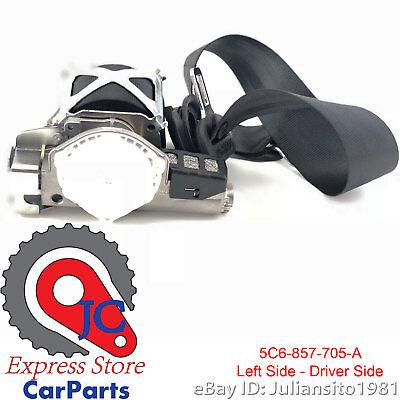 5C6857705A RAA VOLKSWAGEN GENUINE OEM 2011 TO 2016 JETTA FRONT DRIVER SEAT BELT