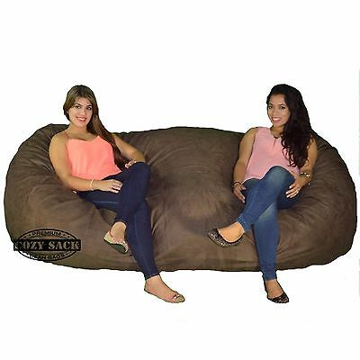 3 of 12 Bean Bag Chair 8u0027 Foot Cozy Bean Bag 8u0027x40 x40  Factory  sc 1 st  PicClick & BEAN BAG CHAIR 8u0027 Foot Cozy Bean Bag 8u0027x40