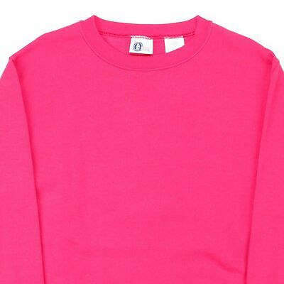 ARIZONA JEANS COMPANY  Pink 00s Crew Neck Sweatshirt Girls L 2