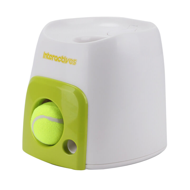 Automatic Interactive Pet Dog Launcher Tennis Ball Toy Fetch Hyper Training Game 3