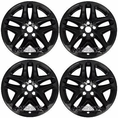 4 Black 13 16 Ford Fusion 17 Wheel Covers Rim Skins Hub Caps Fits