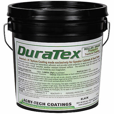 Acry-Tech DuraTex Black 1 Gal Roller Grade Cabinet Coating 2