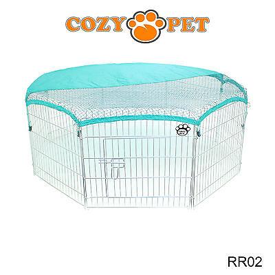 Cozy Pet Rabbit Run Play Pen Guinea Pig Dog Playpen Chicken Puppy Cage Hutch 4