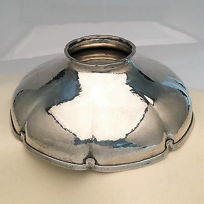 Tiffany & Co. Special Handworked Sterling Silver Bowl, Arts & Crafts, 4.5 Pints, 4