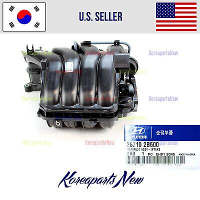 2012 2012 2014 2015 2016 2017 Hyundai Accent Intake Manifold 1.6L OEM