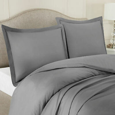 Egyptian Comfort 1800 Count 3 Piece Ultra Soft Duvet Cover Set for Comforter 3
