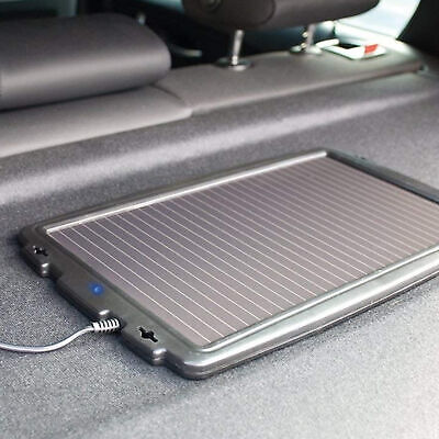 AA 12V Solar Powered Panel Car Caravan Battery EOBD Trickle Charger Maintainer 4