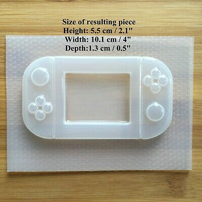 Handheld Game Console Plastic Mold Resin Molds Shaker Gamer UV resin mould 2