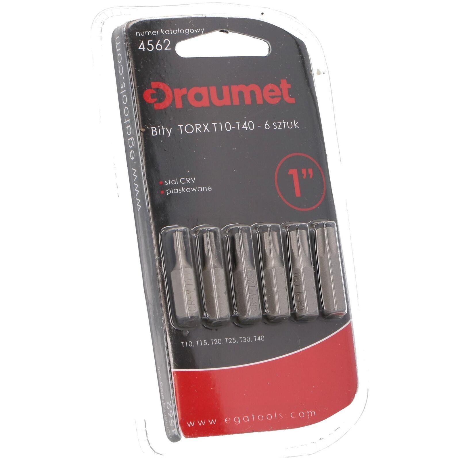 30 tlg DRAUMET Bits Set TORX TX TX 20