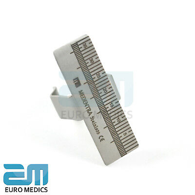 New Dentist Dental Finger Ruler 35mm Useful Surgical Instrument Endodontic Gauge 3