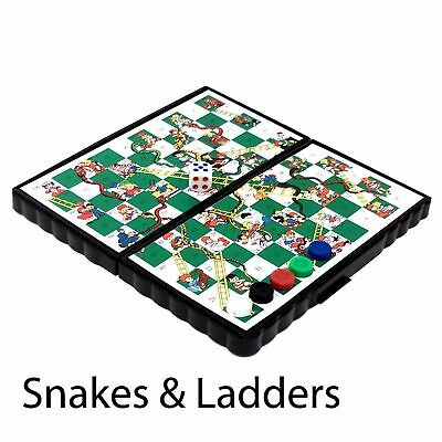 Mini Magnetic Travel Board Games - Chess , Ludo , Snakes and Ladders,  Draughts 3