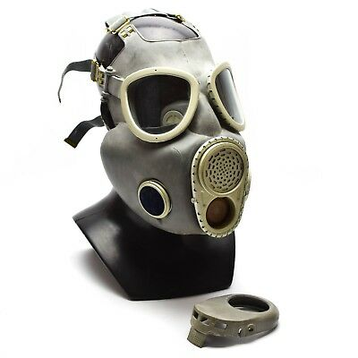 Polish Military Gas Mask MP-4 Genuine respiratory chemical Grey Olive OD NEW 7