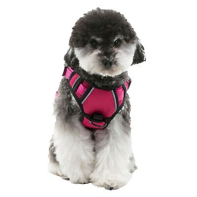 Dog Harness No-Pull Pet Harness Vest Adjustable Outdoor Reflective Easy Control 7