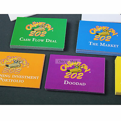 New 101 & 202  Cashflow Boardgame Rich Dad Investing Finance  - Free SHIPPING UK 8