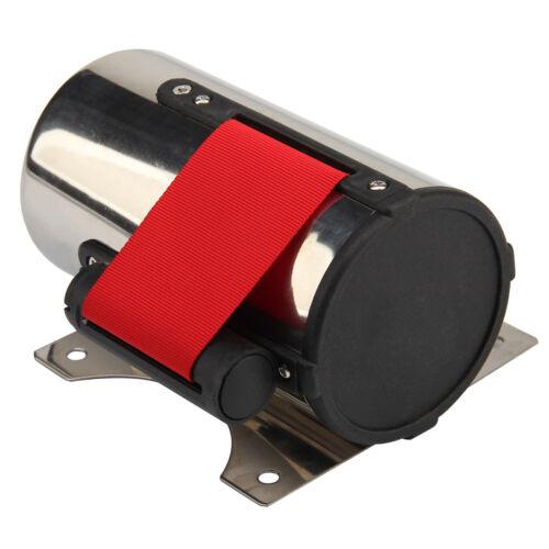 5M Rojo CinturóN Stanchion Barrera de Control Multitud Montaje Pared Retráctil