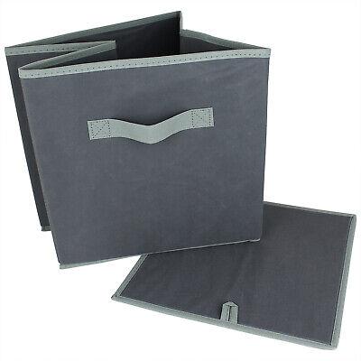 2er Set Faltbox Stoffbox Regalbox Regal Box Aufbewahrung