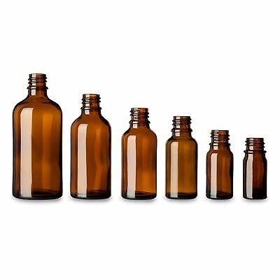 10 x Braunglasflasche mit Tropfeinsatz ☆ Tropfflaschen ☆ Medizinflasche aus Glas 2