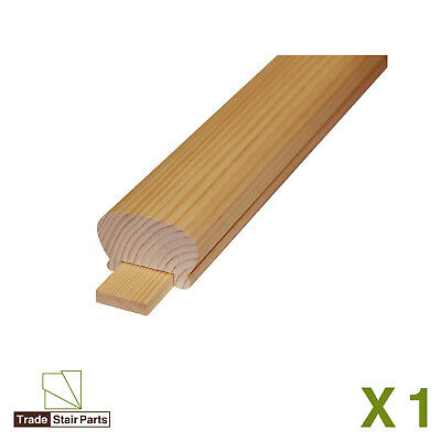 STAIRCASE KIT - LOWER BANNISTER - 2.4 metres - Post to Ceiling Traditional Pine 3