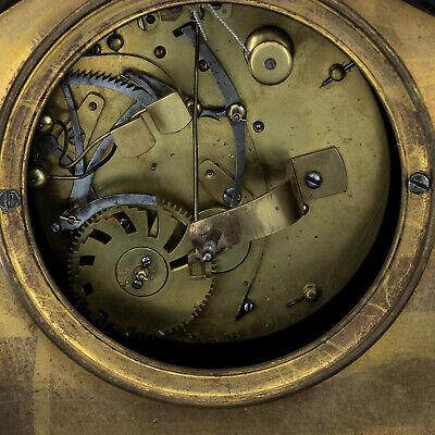 "Antique French pendulum clock ""Little Red Riding Hood"" LeRoi, montre horloge 7"