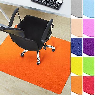 Bodenschutzmatte Bürostuhlunterlage Stuhlunterlage Schutzmatte Hartboden BUNT 2