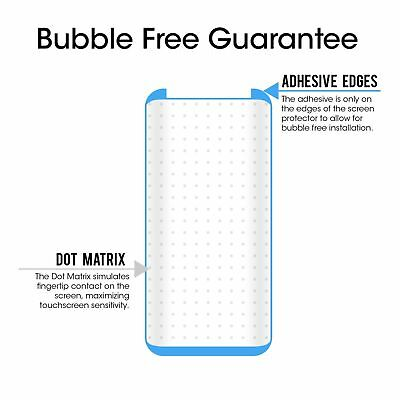 Case Friendly Tempered Glass Screen Protector Samsung Galaxy Note 9 S9 / S8 Plus 9